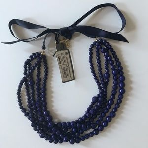 SUGARFIX by Baublebar Beaded Necklace in Navy